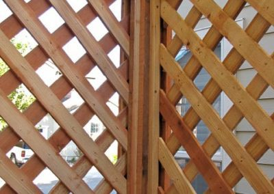 Fence detail by Antonis Construction