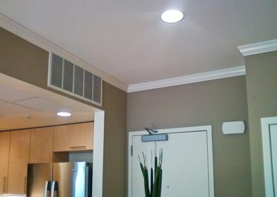 Interior painting and Crown moulding